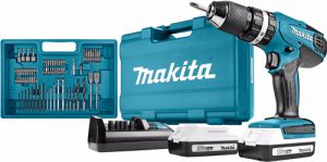 Makita HP457DWE10 klopboormachine