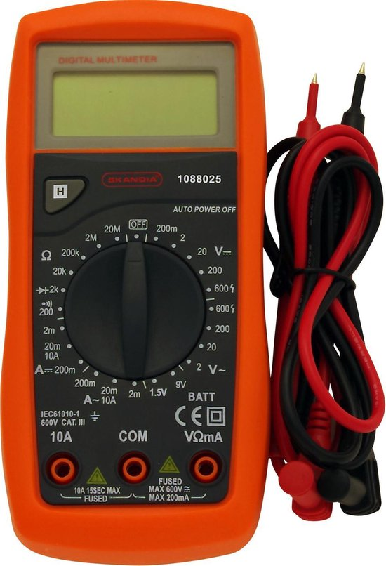 Skandia multimeter 600V